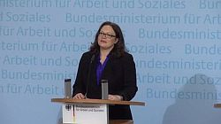 Ministerin Andrea Nahles